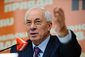 Экс-глава правительства Украины Николай Азаров: Свои убытки от сокращения транзита газа Киев постарается возложить на Москву