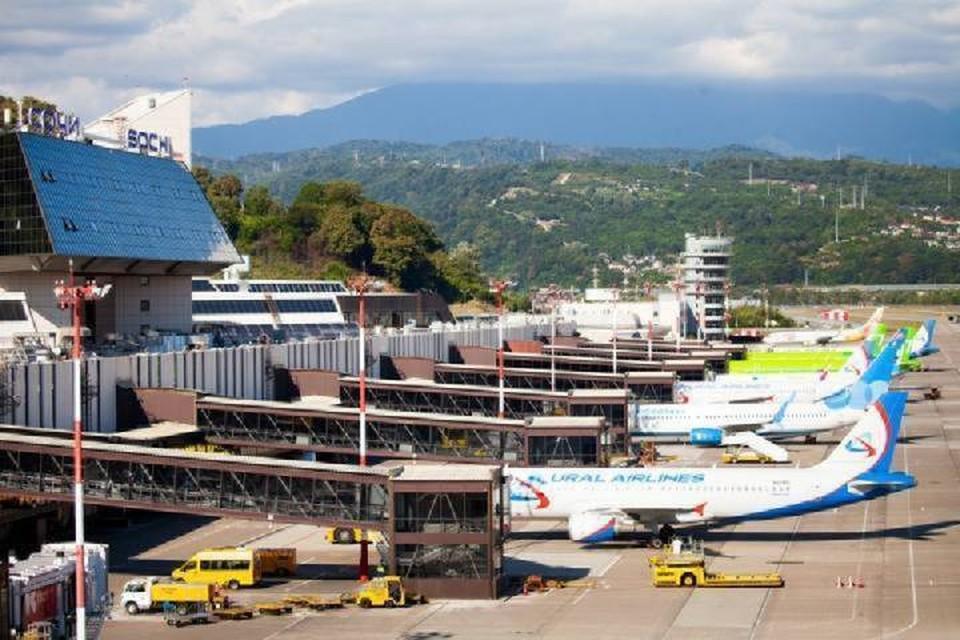 Фото Международного аэропорта Сочи