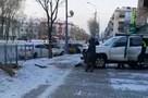 Toyota Land Cruiser И Fielder разбросало в стороны после ДТП в Южно-Сахалинске