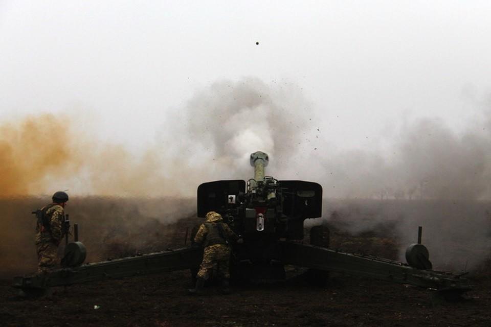 В Донбассе скоро снова «заговорят» не только минометы, но и пушки. Фото: Пресс-центр штаба ООС