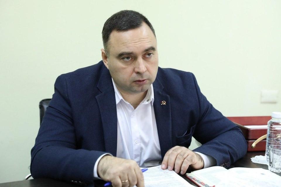 Лидер крымских коммунистов Сергей Богатыренко: в региональном законе много пробелов для застройки парков. Фото: личный архив