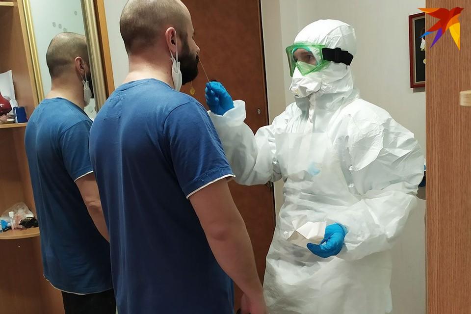 Девять пациентов с коронавирусом умерли за сутки в Беларуси