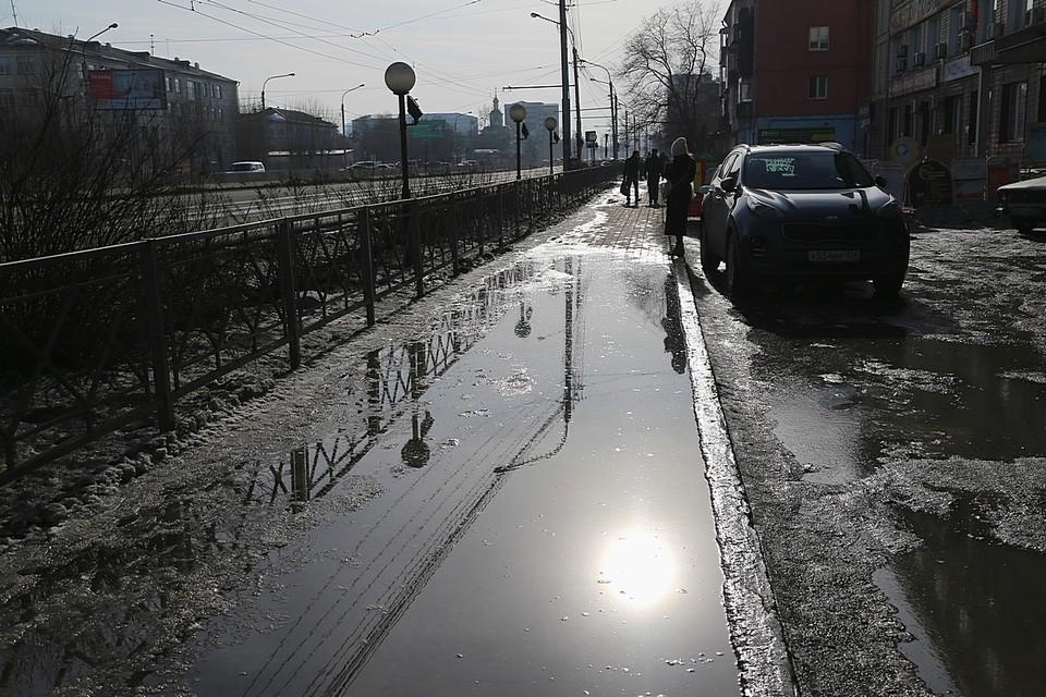 Погода в Красноярске 26 марта 2021