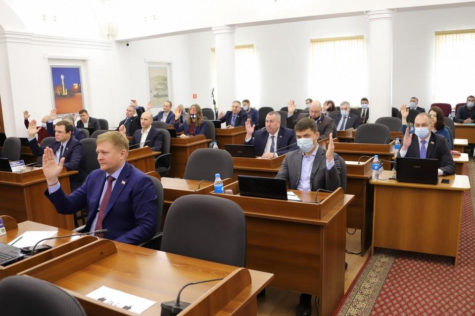 На заседании Думы Владивостока 25 марта 2021 года. Фото: сайт dumavlad.ru