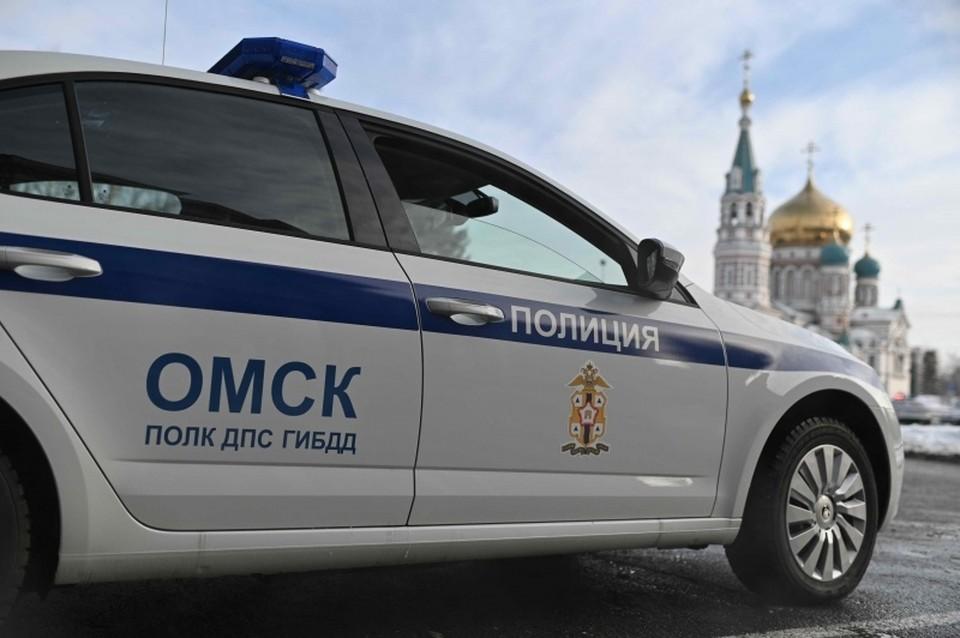 В ДТП пострадала школьница. Фото: пресс-служба Госавтоинспекции по Омской области
