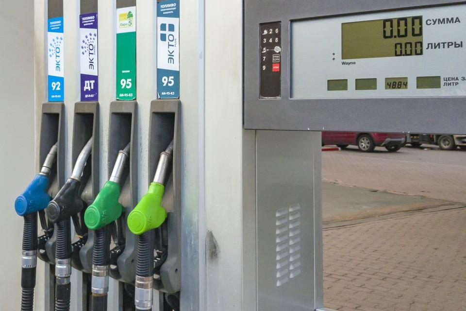 Средние цены на бензин в России выросли на 12 копеек за неделю.