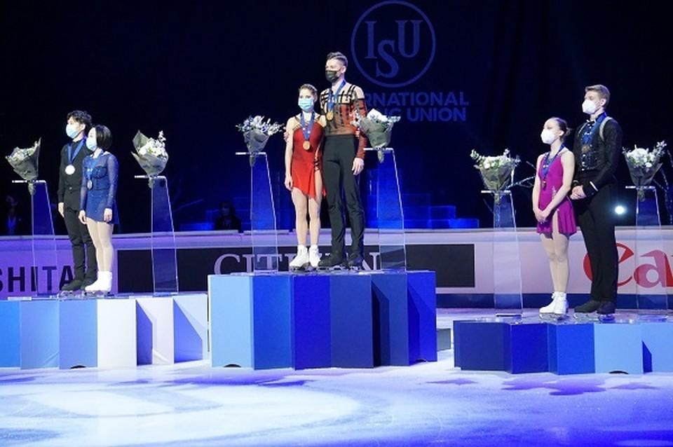 Российские спортсмены стали первыми и третьими на ЧМ в Швеции. Фото: ФФКР.