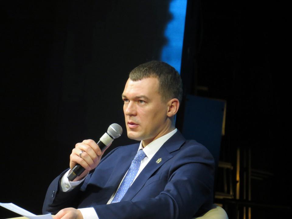 """""""Мы должны создавать условия, чтобы сюда приезжали новые люди"""" - Михаил Дегтярев"""