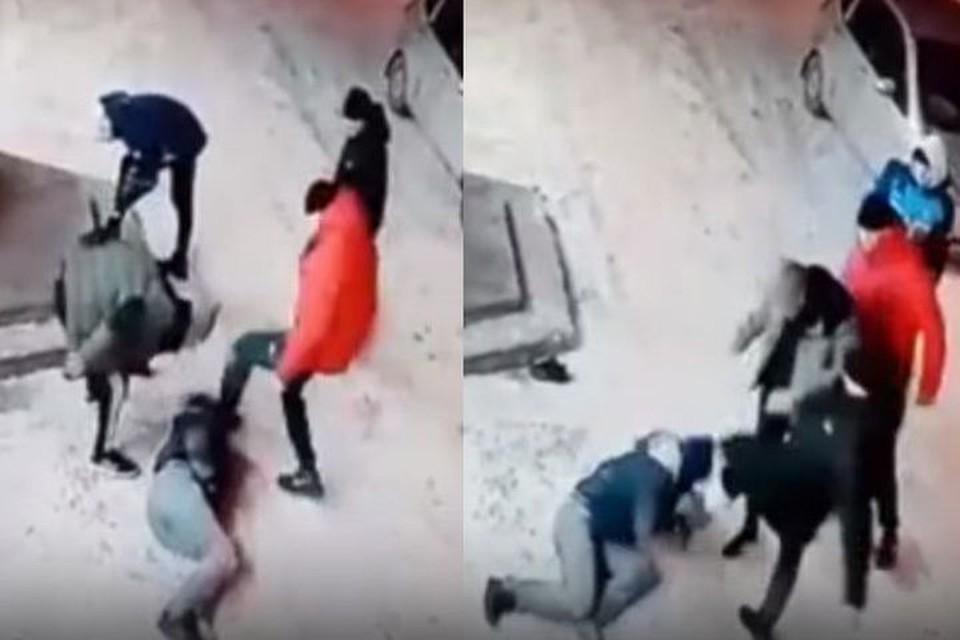 Сибирячку избили, а потом усадили в машину и катали по городу. Фото: скриншот с видео.