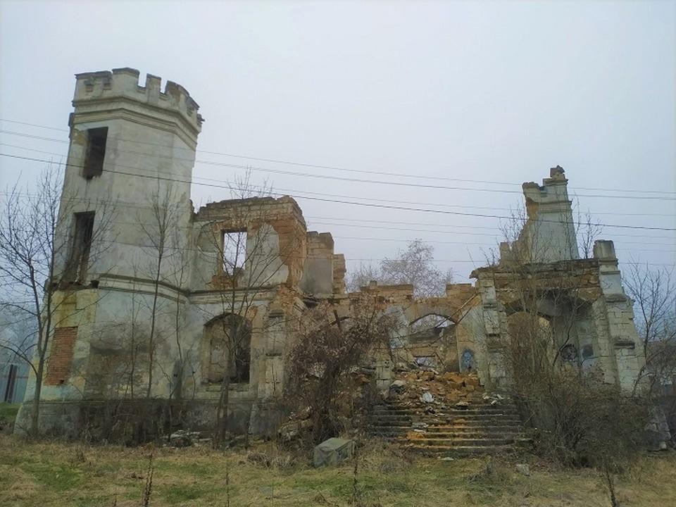 Поместье стоит в разрухе много десятилетий. Фото: Александр Шилко