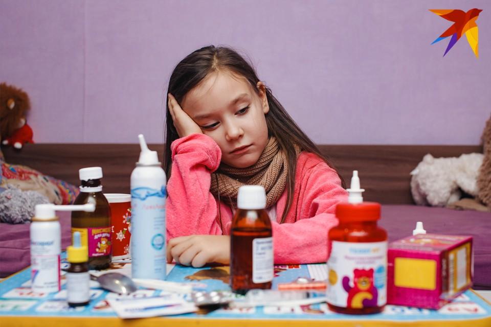 Больше 60% заболевших ОРВИ в Удмуртии за минувшую неделю - дети