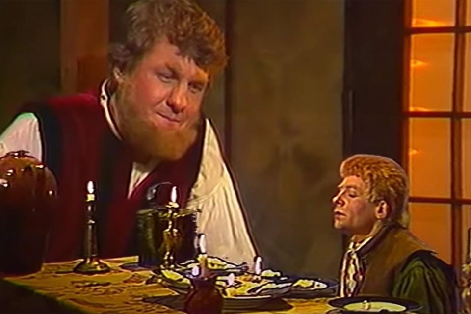 В телепостановке по мотивам шедевра Толкина были заняты звезды ленинградских театров.