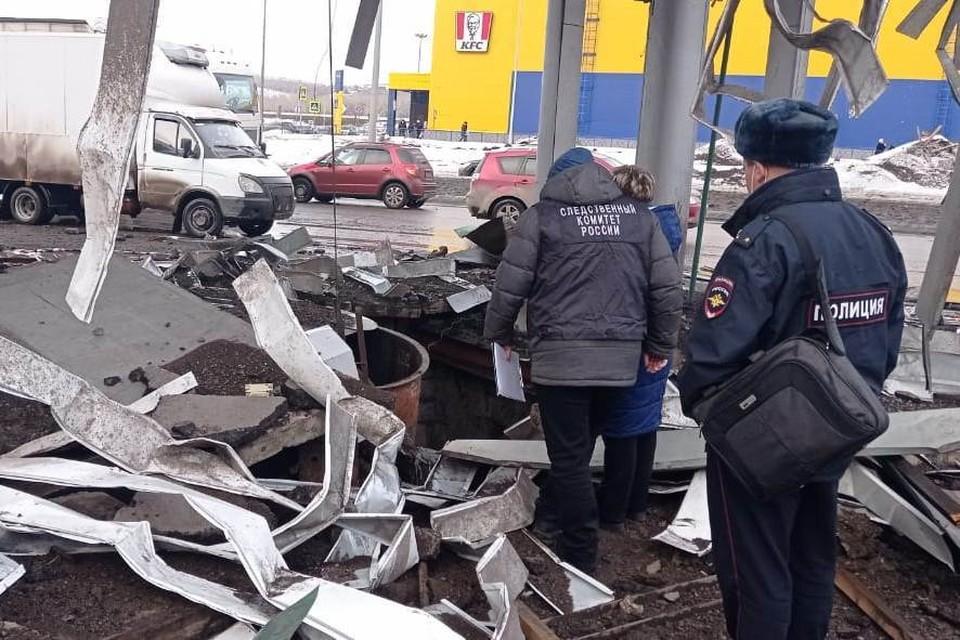 Девять уголовных дел возбудила прокуратура по факту пожара на АЗС в Новокузнецке. Фото: СУ СК Кузбасса