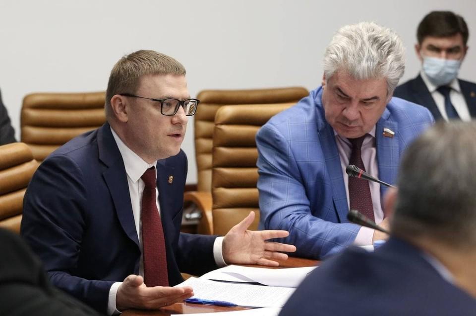Алексей Текслер участвовал в заседаниях большинства комитетов Совфеда. Фото: gubernator74.ru