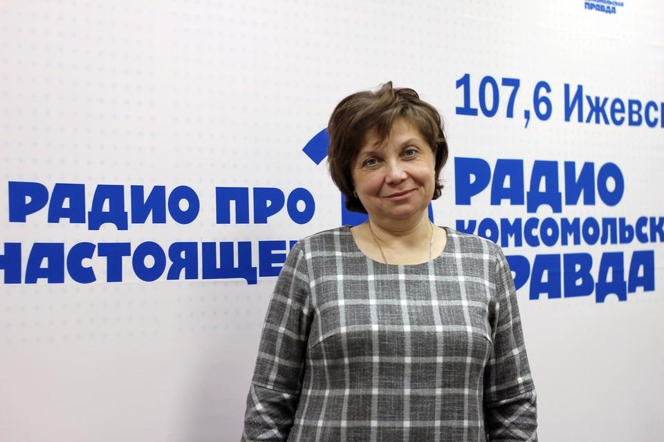 Внештатный специалист Министерства здравоохранения Удмуртии по вакцинопрофилактике Елена Корякина