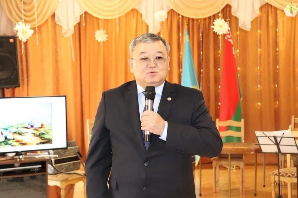 Чрезвычайный и полномочный посол РК в Беларуси Аскар Бейсенбаев