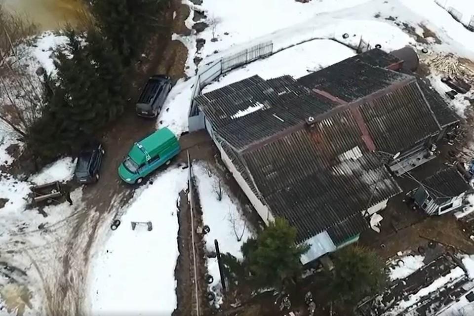 В ликвидации бандита принимал участие беспилотник и робототехнический комплекс. Фото: ФСБ РФ
