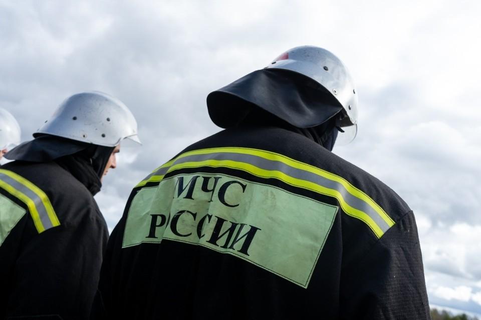 В Железнодорожном районе Орла 31 марта горел «Фольксваген»