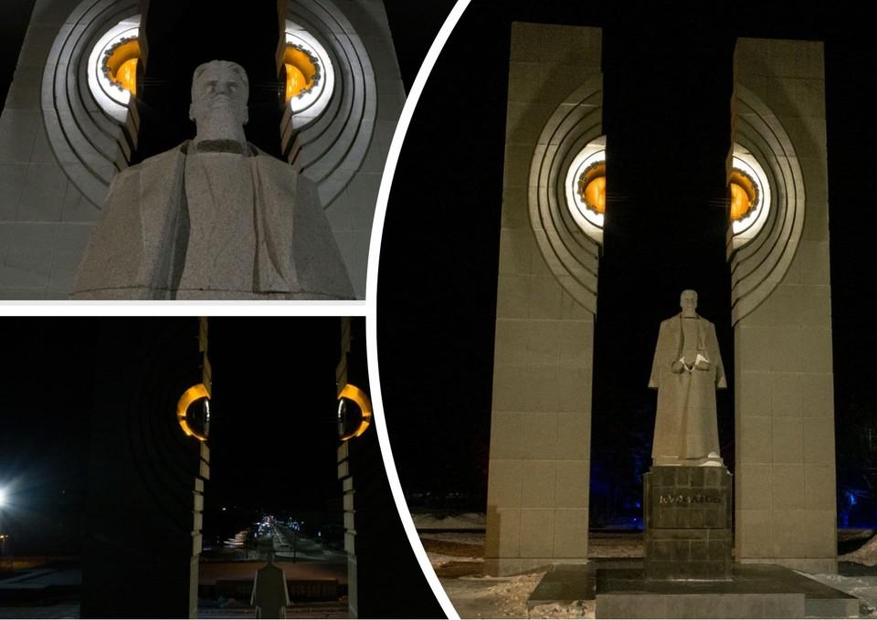 Подсветка включается вместе с наружным освещением. Фото: КДХ Челябинска