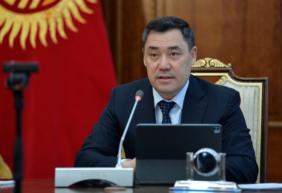 Президент наградил отличившихся кыргызстанцев.
