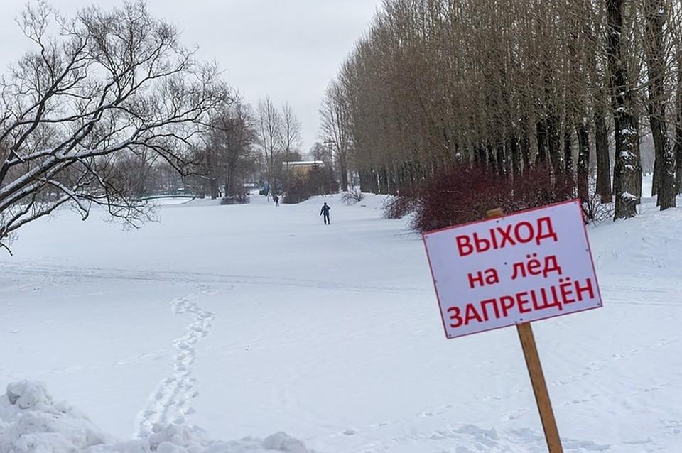 Спасатели помогли мальчику, провалившемуся под лед