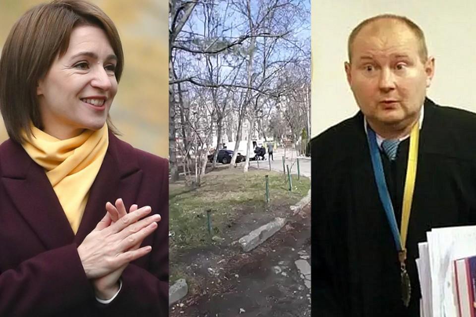 Майя Санду не может не знать о действиях украинских спецслужб на территории Республики Молдова.