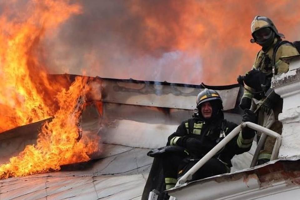 «Нам особо не видно было, как горело. Страшно стало, когда начали присылать кадры снаружи». Фото: ГУ МЧС России по Амурской области