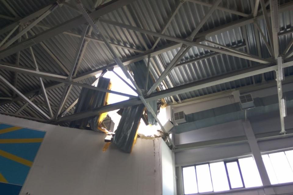 Сейчас эксплуатация здания приостановлена. Фото: ГУ МЧС по Кировской области