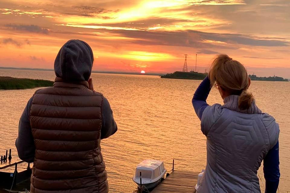 Рассвет на Псковском озере прекрасен. Фото: Личный архив автора