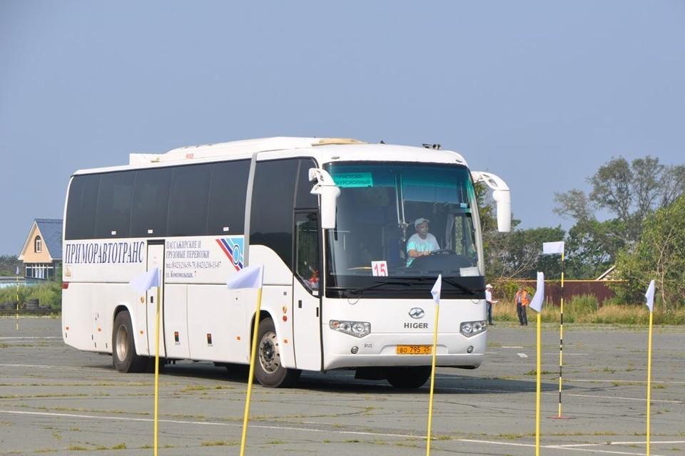 Автобус компании. Фото: сайт «Приморавтотранс»