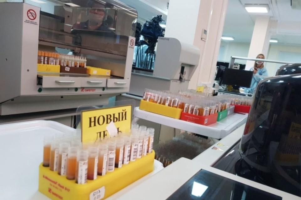 За прошедшие сутки в лабораториях региона выполнено 2523 исследования на COVID-19.