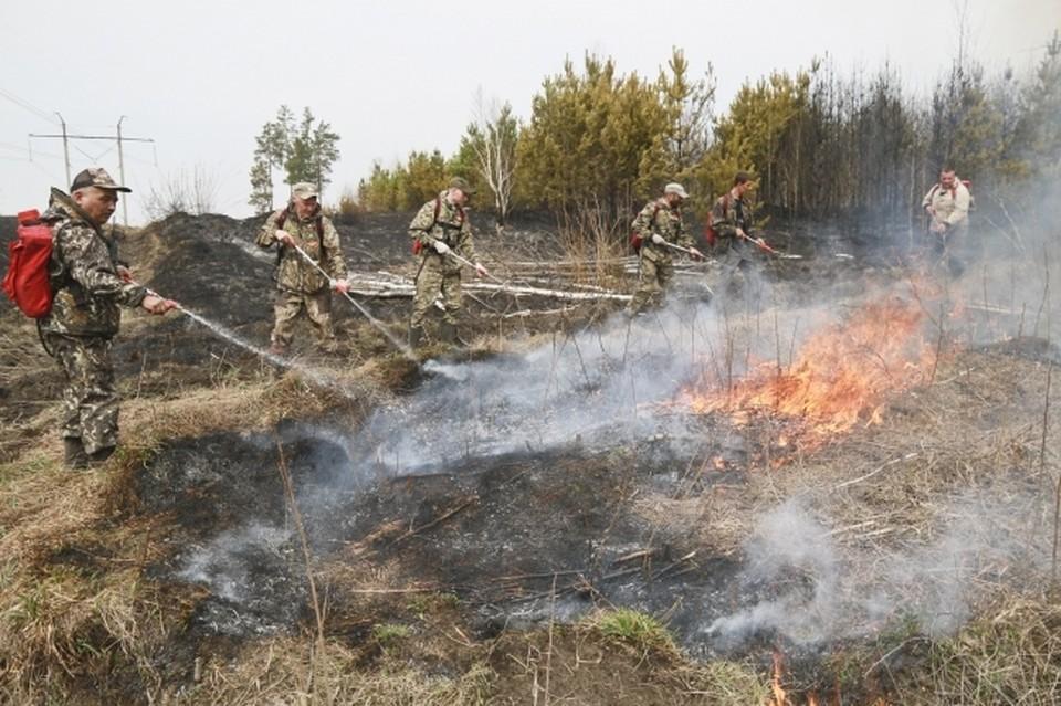В Челябинской области начинается пожароопасный сезон.