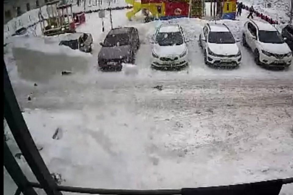 Фото: скриншот видеозаписи