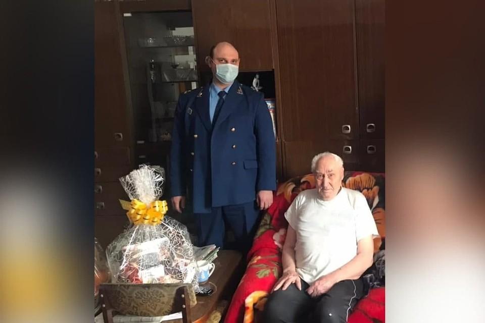 95-летний ветеран, избитый грабителями Фото: Прокуратура