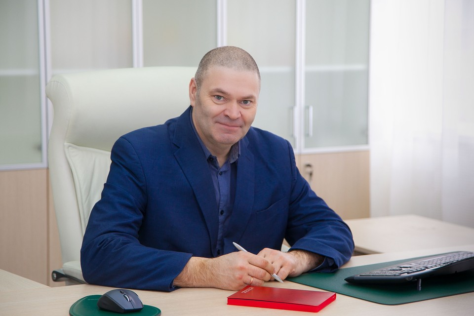 Генеральный директор ООО «Бентонит Хакасии» Олег Турбин. Фото предоставлено компанией