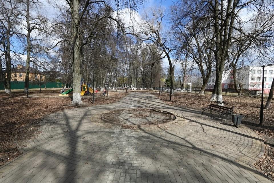 В Брянске сквер Комсомольский вошел в список для голосования по благоустройству