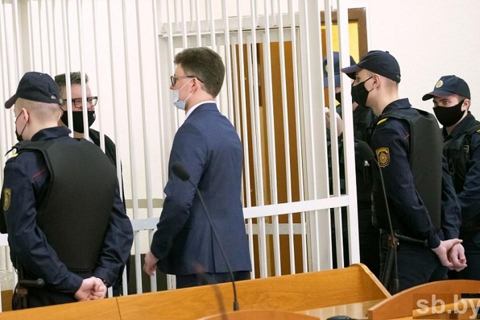 По «делу Белгазпромбанка» семь из восьми бывших топ-менеджеров допрошены в суде и полностью признали свою вину. Фото: sb.by.
