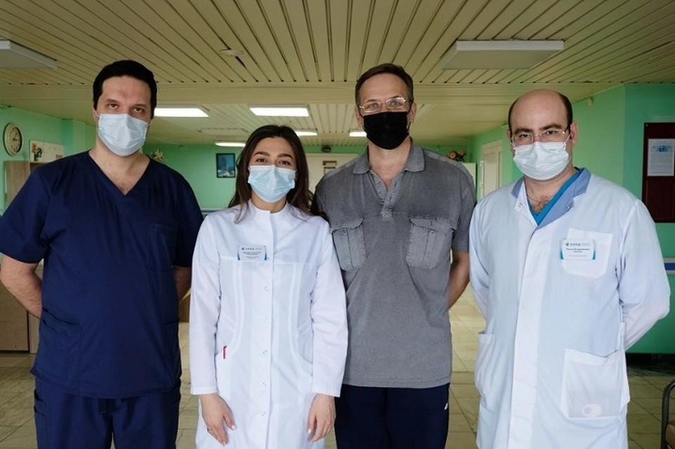 Медики спасли Сергею ногу, на которой образовалась пятикилограммовая опухоль Фото: пресс-служба Минздрава Свердловской области