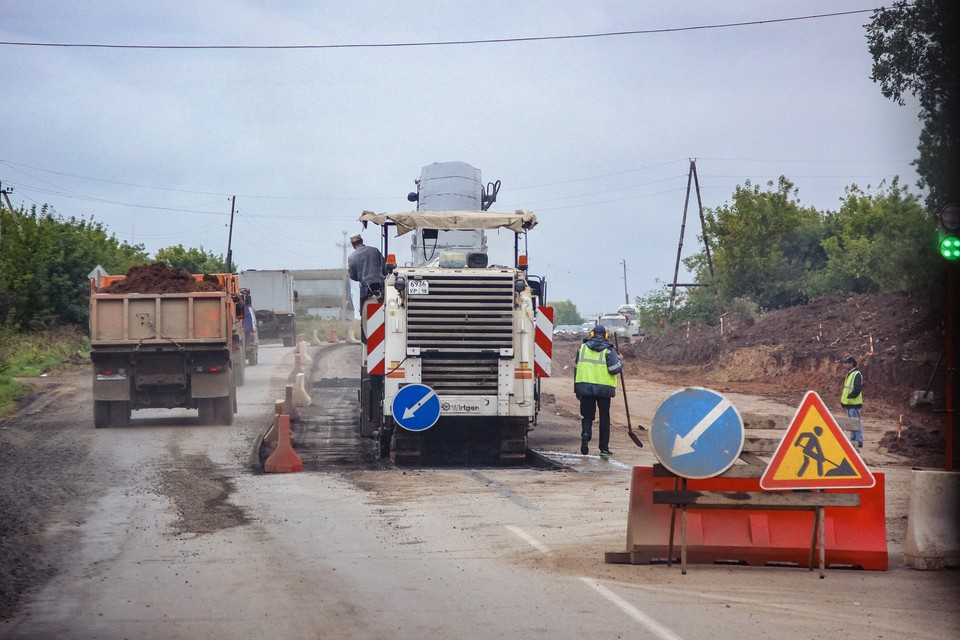 Более 5 миллиардов рублей потрачено на строительство дорог в Удмуртии в 2020 году