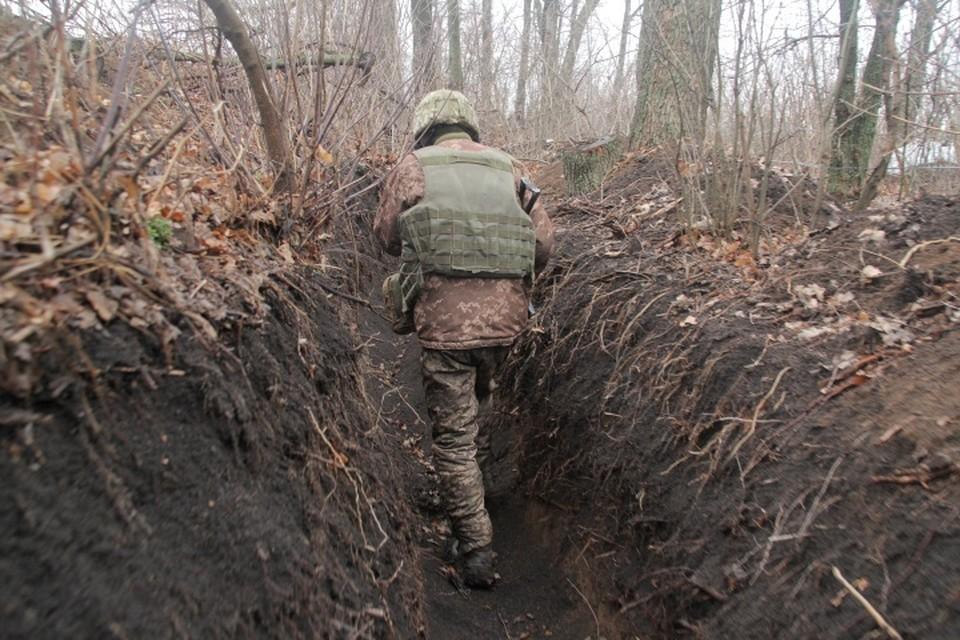 В Донбассе продолжаются боевые действия