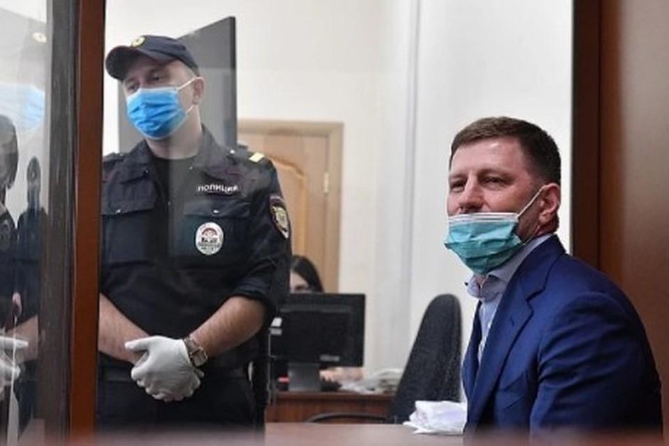 Бывший губернатор Хабаровского края Сергей Фургал заразился коронавирусом в СИЗО