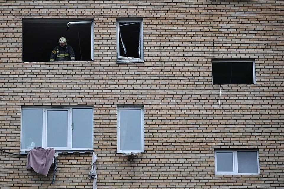 Пожар случился в пятиэтажке