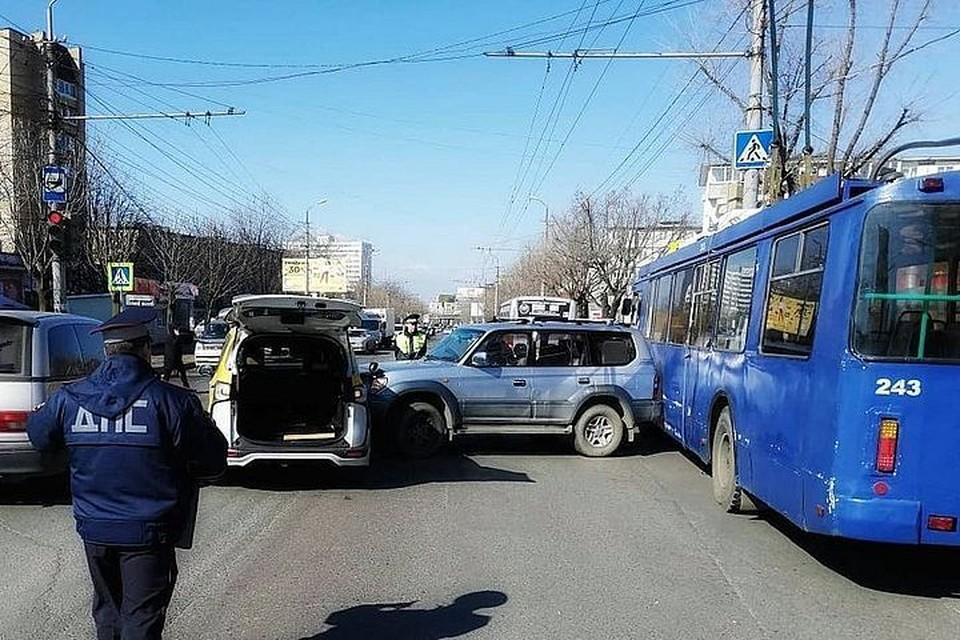 Подробности аварии выясняют полицейские. Фото: Instagram/dps.control