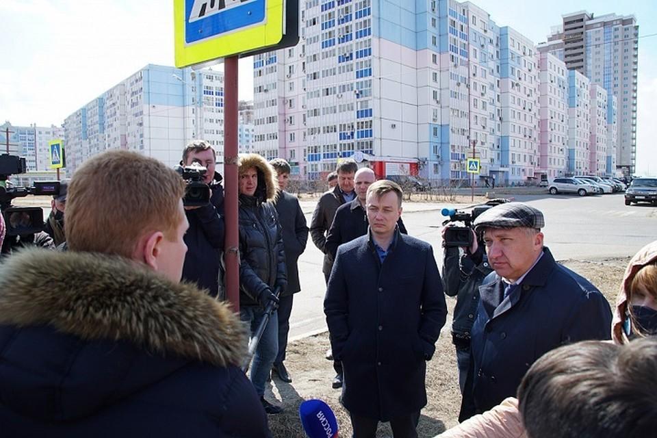 Дороги на улицах Сысоева и Вахова в Хабаровске уйдут под контроль муниципалитета