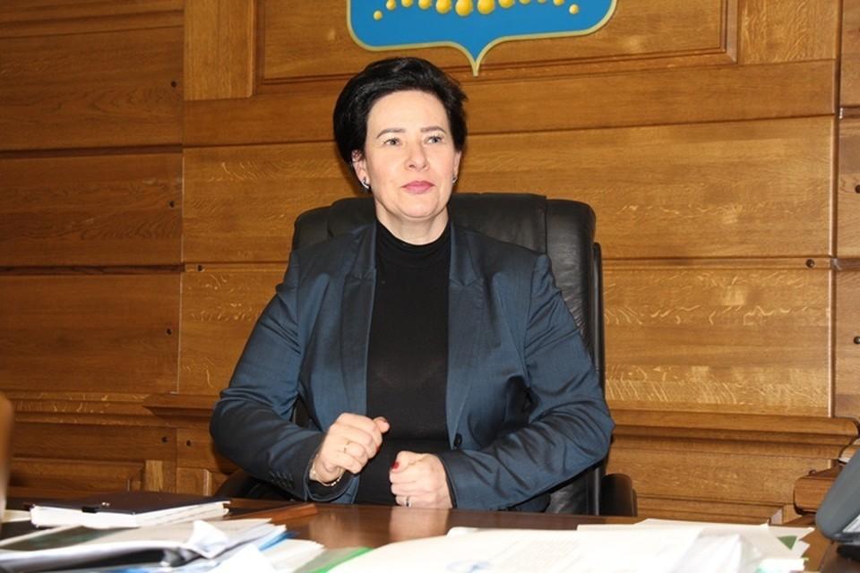Елена Дятлова.