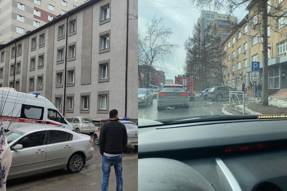 Сообщения о минированиях поступили в разные объекты города. Фото: Вадим Алексеев\Михаил Докукин
