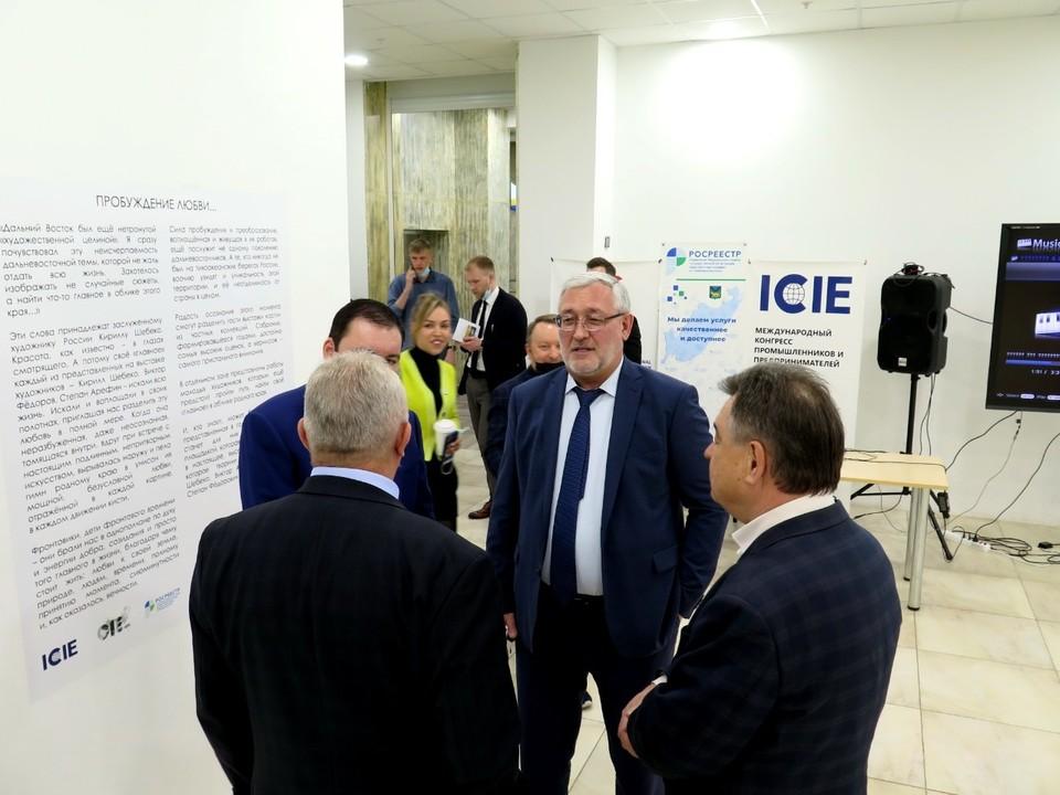 Открытие выставки «Пробуждение любви» во Владивостоке. Фото: предоставлено организаторами