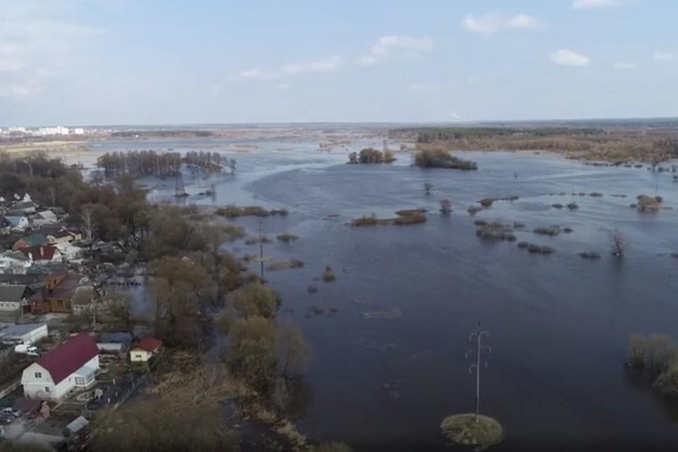 На предстоящие сутки затоплений жилых домов не прогнозируется.