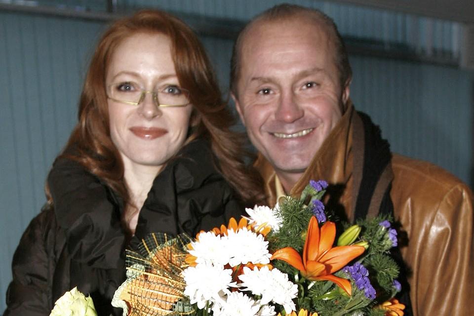 Андрей Панин и Наталья Рогожкина в 2007 г. Фото: Василий ГЛУШКОВ/ЭГ