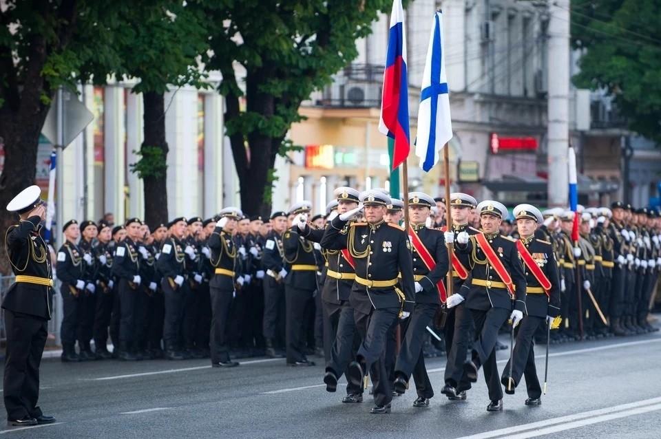 Сейчас идет подготовка к параду в честь Победы в Великой Отечественной войне